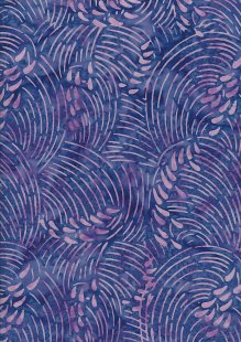 Doughty's Exclusive Bali Batik - Whirlpools Purple & Pink