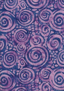 Doughty's Exclusive Bali Batik - Eddies Purple & Pink