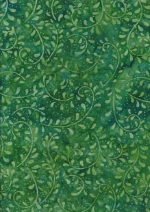 Doughty's Exclusive Bali Batik - Vines Grass