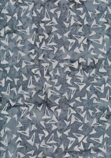 Doughty's Exclusive Bali Batik - Kites Dark Grey