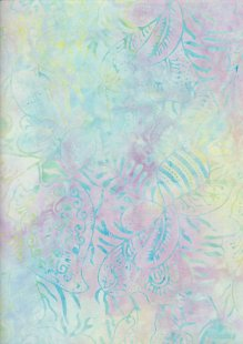 Doughty's Exclusive Bali Batik - Pressed Leaves Pastel