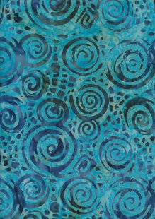 Doughty's Exclusive Bali Batik - Eddies Turquoise