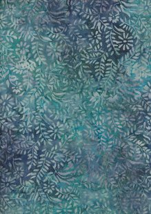Doughty's Exclusive Bali Batik - Sprigs Blue