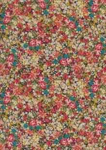 Lady McElroy Cotton Twill - Lobella Bloom 419