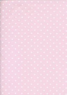 Poly Cotton Spot -Pink