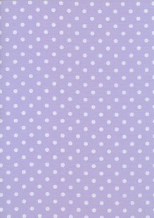 Poly Cotton Spot -Lilac