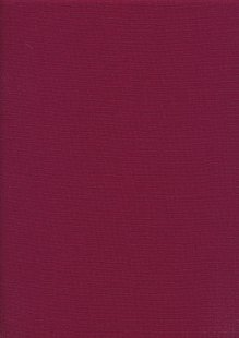 Plain Cotton Canvas - Wine