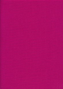 Plain Cotton Canvas - Cerise