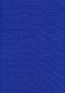 Plain Cotton Canvas - Royal Blue