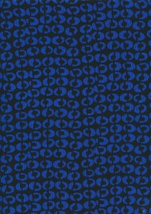 Viscose Spandex Jersey - Black & Blue Eggs