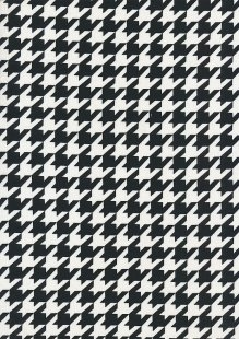 Viscose Spandex Jersey Space Invaders - Black & White