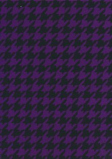 Viscose Spandex Jersey Space Invaders - Black & Purple