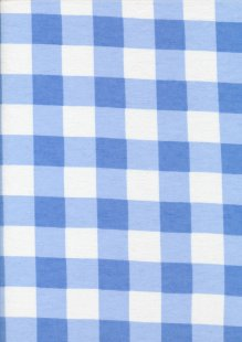 Brushed Cotton - Blue Check