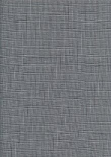 Cotton Spandex Poly Suiting - Grey Check