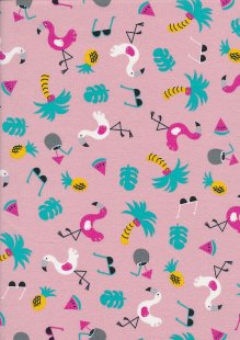 Creative Solutions Cotton/ EA Jersey Tropic Pink -