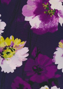 John Kaldor Chiffon - Juliet Rose Purple 3629