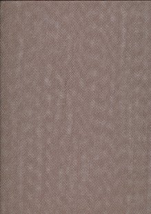 Polyester Dress Net Brown