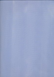 Polyester Dress Net Blue