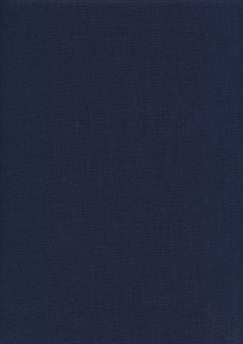Enzyme Washed Linen  - Navy 2038G