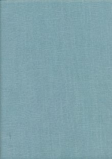 Enzyme Washed Linen  - Light Turquoise