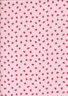 Poly/Cotton - Strawberry Pink 17# Strawberry