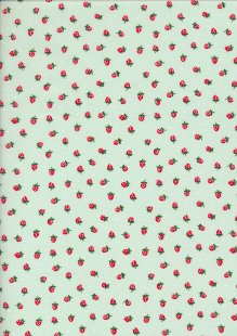 Poly/Cotton - Strawberry Mint 17# Strawberry