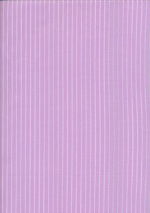 Poly/Cotton - Stripe Lilac  Design 46