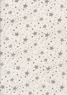 JLC Needle Cord - Stars Cream 91351