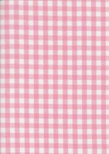 Yarn Dyed Cotton Gingham  - Baby Pink 2021A