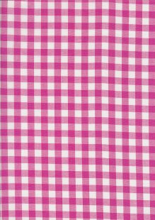 Yarn Dyed Cotton Gingham  - Pink 2021J