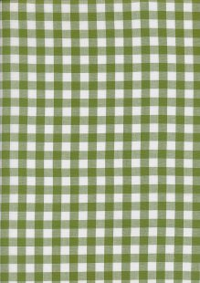 Yarn Dyed Cotton Gingham  - Green 2021K