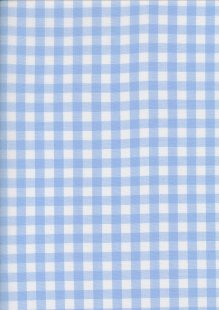 Yarn Dyed Cotton Gingham  - Light Blue 2021B