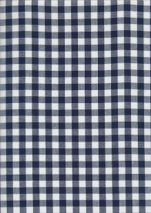 Yarn Dyed Cotton Gingham  - Navy 2021Q