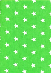 DOU Cotton - Stars Green 2