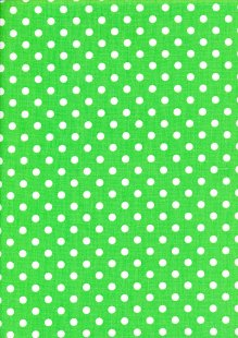 DOU Cotton - Spots Green 2