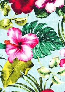 Lady McElroy Cotton Lawn - Tropical Paradise Multicoloured 1073