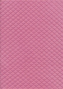 Creative Solutions Diamond Melange Quilted Jersey -  Dusty Rose KC8055-014