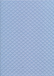 Creative Solutions Diamond Melange Quilted Jersey -  Dusty Blue KC8055-003