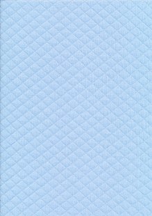 Creative Solutions Diamond Melange Quilted Jersey -  Blue KC8055-002