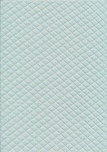 Creative Solutions Diamond Melange Quilted Jersey -  Dusty Mint KC8055-022