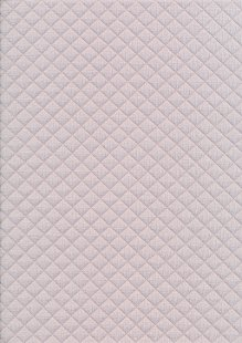 Creative Solutions Diamond Melange Quilted Jersey -  Light Grey KC8055-063