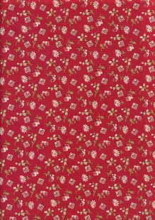 Little Sweetheart By Edyta Sitar For Andover Fabrics - Crimson Something Borrowed 8828C#R
