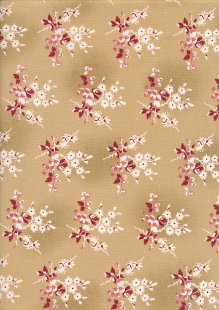 Little Sweetheart By Edyta Sitar For Andover Fabrics - Biscuit Fresh Berries 8824C#LI