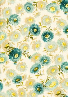 Sequoia By Edyta Sitar For Andover Fabrics - 2/8751T Daisies Granite