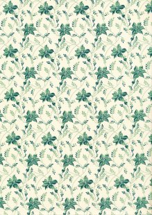 Sequoia By Edyta Sitar For Andover Fabrics - 2/8753LT Buds & Vines Touch of Blue