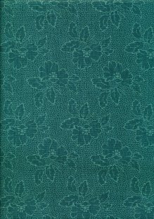 Sequoia By Edyta Sitar For Andover Fabrics - 2/8752T Floral River Blue