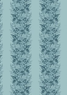 Something Blue By Edyta Sitar For Andover Fabrics - 2/8827B WREATH CADET