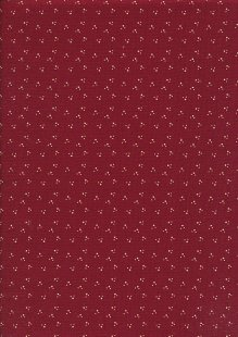 Ellie's Quiltplace - Contemporary Classics Paw Prints Cranberry Red CC190201