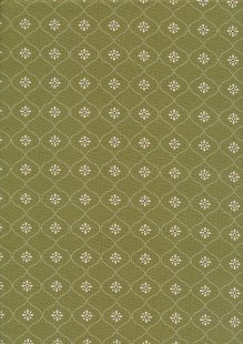 Ellie's Quiltplace - Past & Present Vintage Wallpaper Juniper Green