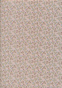 Ellie's Quiltplace - Past & Present Floral Abundance Light Taupe